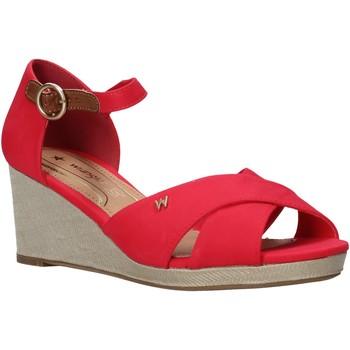 Chaussures Femme Sandales et Nu-pieds Wrangler WL01520A Rouge