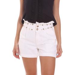 Vêtements Femme Shorts / Bermudas Gaudi 111BD26022 Blanc