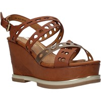 Chaussures Femme Sandales et Nu-pieds Wrangler WL01570A Marron
