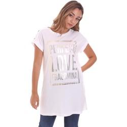 Vêtements Femme T-shirts manches courtes Fracomina FR21ST3012J40615 Blanc