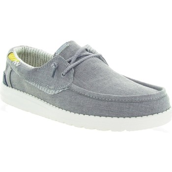 Chaussures Homme Mocassins Hey Dude WALSH CHAMBRAY Gris