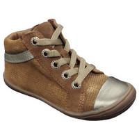 Chaussures Fille Baskets montantes Bellamy LARA camel