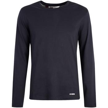 Vêtements Homme T-shirts manches longues Bikkembergs  Bleu