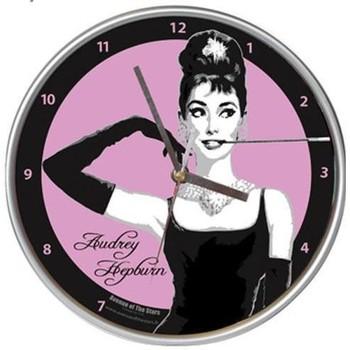 Maison & Déco Horloges Audrey Hepburn Pendule murale Noir