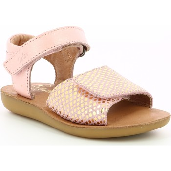 Chaussures Fille Sandales et Nu-pieds Aster Theania Rose Rose