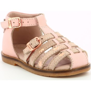 Chaussures Fille Sandales et Nu-pieds Aster Nini Rose Clair Rose
