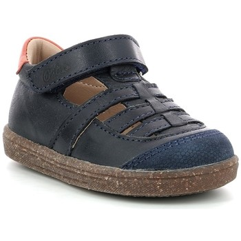 Chaussures Garçon Sandales et Nu-pieds Aster Waba Marine Bleu