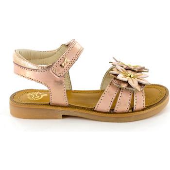 Chaussures Fille Sandales et Nu-pieds Stones and Bones Mirti Metal Salmon Rose