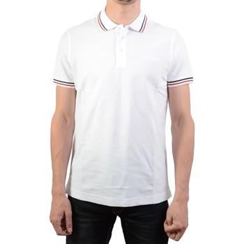 Vêtements Homme Polos manches courtes Lotto Classica PQ Blanc/Rouge