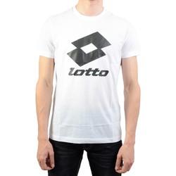 Vêtements Homme T-shirts manches courtes Lotto Smart II Tee JS Blanc