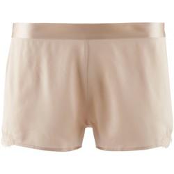 Vêtements Femme Pyjamas / Chemises de nuit Aubade boxer soie d'amour Blond