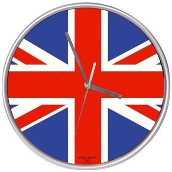 Maison & Déco Horloges Londres Pendule murale ronde UK Multicolore