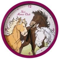 Maison & Déco Horloges Nici Pendule  Horse Club Multicolore