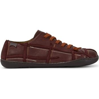 Chaussures Femme Baskets basses Camper Baskets cuir Peu Cami rouge