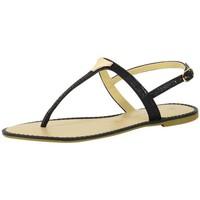 Chaussures Femme Sandales et Nu-pieds The Divine Factory Sandales Noir