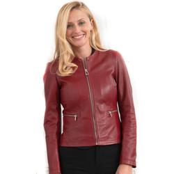 Vêtements Femme Vestes en cuir / synthétiques Rose Garden ETHEL LAMB MANILLA REDWINE Rouge