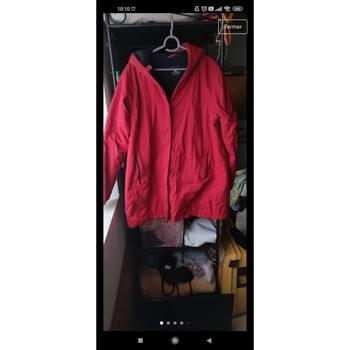 Vêtements Homme Manteaux Bermudes Manteau rouge Bermudes Rouge