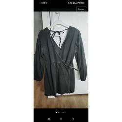 Vêtements Femme Robes courtes Asos Robe denim Asos Noir
