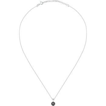 Montres & Bijoux Femme Colliers / Sautoirs Cleor Collier  en Argent 925/1000 et Oxyde Noir Blanc