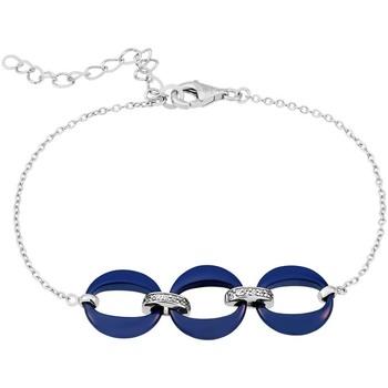 Montres & Bijoux Femme Bracelets Bleue Joaillerie Bracelet  en Céramique Bleue Bleu