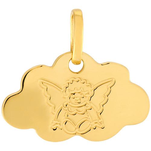 Montres & Bijoux Pendentifs Cleor Médaille  en Or 375/1000 Jaune Jaune