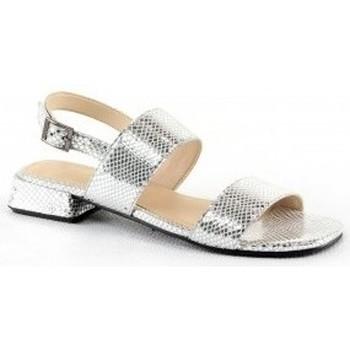 Chaussures Femme Sandales et Nu-pieds Manoukian Sandales Sasha Argenté