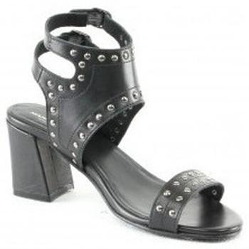 Chaussures Femme Sandales et Nu-pieds Manoukian Sandales Sakina Noir