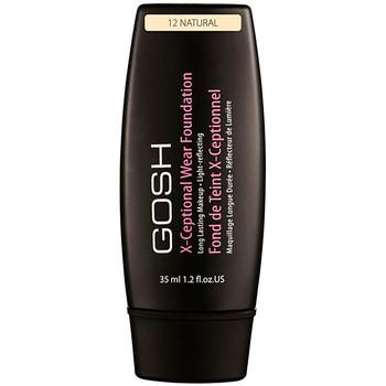 Beauté Femme Fonds de teint & Bases Gosh X-ceptional Wear Foundation Long Lasting Makeup 12-natural