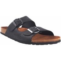 Chaussures Homme Mules Interbios Sandale homme  9560 noir Noir