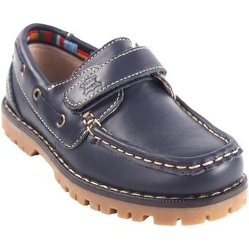 Chaussures Garçon Chaussures bateau Bubble Bobble Chaussure garçon  a766 bleu Bleu