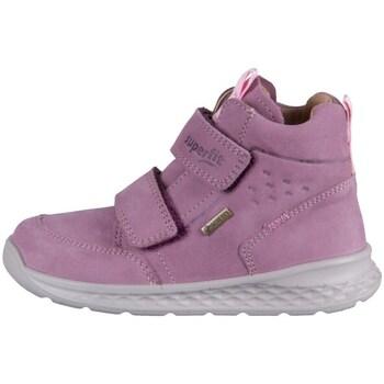 Chaussures Enfant Baskets montantes Superfit Breeze Rose