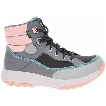 Chaussures Femme Baskets montantes Skechers Outdoor Ultra Noir, Gris, Rose