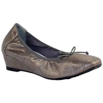 Chaussures Femme Ballerines / babies Suredelle 2906 GRIS METAL