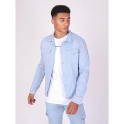 Vêtements Homme Vestes en jean Project X Paris Veste Légère Bleu Ciel