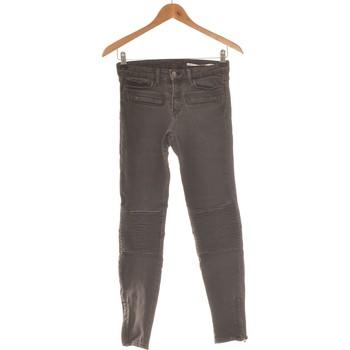 Vêtements Femme Jeans slim Zara Jean Slim Femme  34 - T0 - Xs Gris
