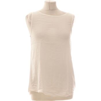 Vêtements Femme Tops / Blouses Springfield Top Manches Courtes  36 - T1 - S Blanc