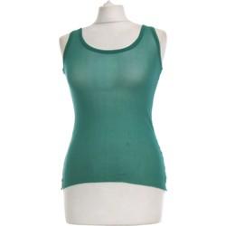 Vêtements Femme Tops / Blouses Jean Paul Gaultier Top Manches Longues  40 - T3 - L Vert