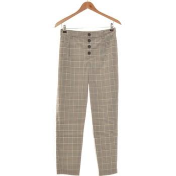 Vêtements Femme Pantalons Zara Pantalon Bootcut Femme  36 - T1 - S Gris