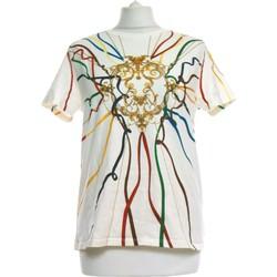 Vêtements Femme Tops / Blouses Zara Top Manches Courtes  36 - T1 - S Blanc
