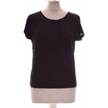 Vêtements Femme Tops / Blouses Galeries Lafayette Top Manches Courtes  34 - T0 - Xs Noir