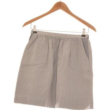 Vêtements Femme Jupes Monoprix Jupe Courte  36 - T1 - S Blanc