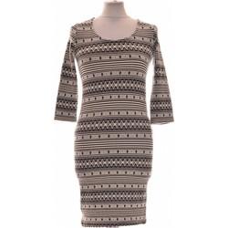 Vêtements Femme Robes courtes Pimkie Robe Courte  38 - T2 - M Blanc