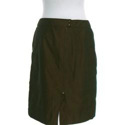 Vêtements Femme Jupes Manoukian Jupe Mi Longue  40 - T3 - L Marron