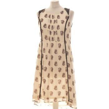 Vêtements Femme Robes courtes H&M Robe Mi-longue  36 - T1 - S Beige