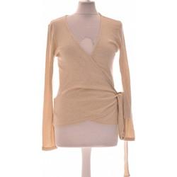 Vêtements Femme Gilets / Cardigans Balzac Paris Gilet Femme  36 - T1 - S Beige