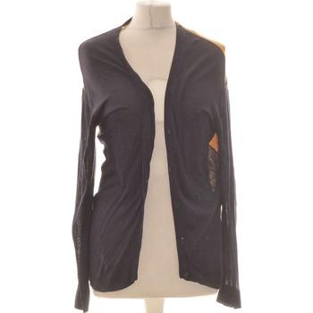 Vêtements Femme Gilets / Cardigans Jacqueline Riu Gilet Femme  36 - T1 - S Bleu