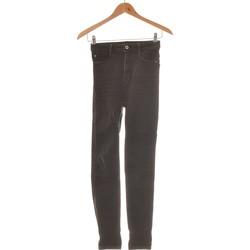 Vêtements Femme Jeans slim Zara Jean Slim Femme  34 - T0 - Xs Blanc