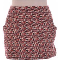 Vêtements Femme Jupes Zara Jupe Courte  36 - T1 - S Rose