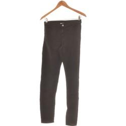 Vêtements Femme Pantalons Benetton Pantalon Slim Femme  36 - T1 - S Noir
