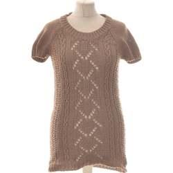 Vêtements Femme Pulls Creeks Pull Femme  38 - T2 - M Marron